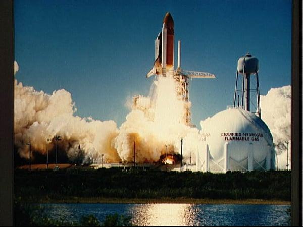 NASA Image - Challenger Liftoff
