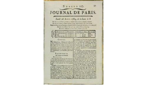 Franklin Article - Journal de Paris