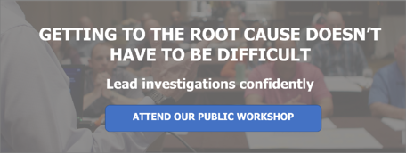 Root cause analysis cause mapping Public Workshop