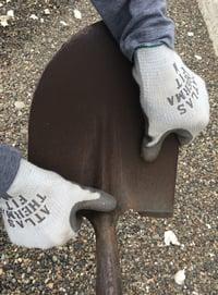Shovel-hand
