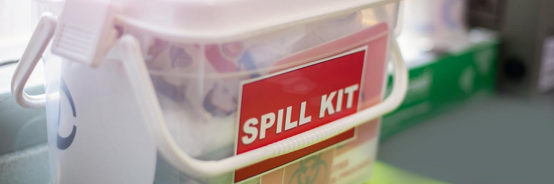 Emergency spill kit image